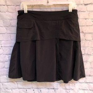 Athleta Black Wherever Skirt Skorts